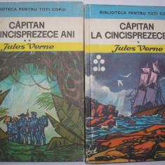 J.Verne / Capitan la 15 ani (2 volume,cu ilustratii),r25