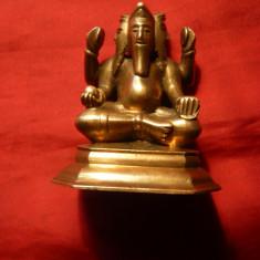 Statueta veche bronz - Zeitate - h= 5 cm