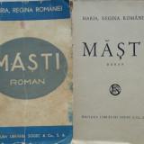 Maria, Regina Romaniei, Masti, roman, 1938, 3 - Carte Editie princeps