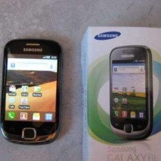 Vand/Schimb Samsung Galaxy Fit - Telefon mobil Samsung Galaxy Fit, Negru, Neblocat