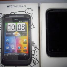 HTC Wildfire S - Telefon mobil HTC Wildfire S, Negru, Neblocat