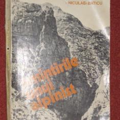 Amintirile unui alpinist - Niculae Baticu - Carte Geografie