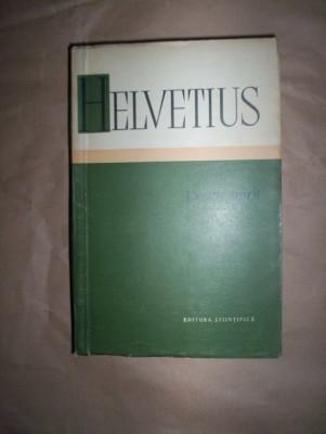 Helvetius-Despre spirit foto