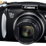 Canon PowerShot SX120IS - Aparat Foto compact Canon, Compact, 10 Mpx, 10x, 3.0 inch