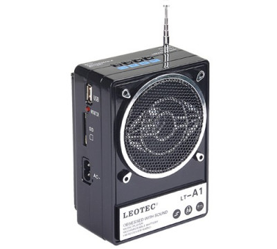 PROMO.MP3 Player cu stick USB/SD Card Reader , FM Radio digital,acumulator 12 ore,baterii,priza,int.aux,int.casti.SUPER SUNET. foto