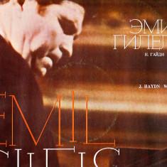 EMIL GILELS -CONCERTO FOR PIANO AND ORCHESTRA IN D MAJOR - CONCERTO NR 21 FOR PIANO AND ORCHESTRA IN C MAJOR K 467 - Muzica Opera