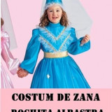 FROZEN! FII PRINTESA VIOLETA ROCHITA DE ZANA CEA BUNA, PT, SERBARE, CARNAVAL, HALLOWEEN, PARTY! SUPER PRET! - Costum petrecere copii