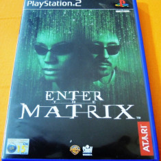 Joc Enter the Matrix, PS2, original, alte sute de jocuri! - Jocuri PS2 Atari, Actiune, 12+, Single player