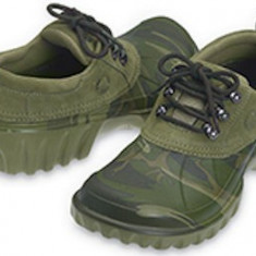 Ghete off-road CROCS, noi, cu eticheta si cutie originala, model Axle, culoare greencamo/army marime M4W6 ( 36) - Ghete barbati Crocs, Culoare: Verde
