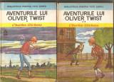 (C2693) AVENTURILE LUI OLIVER TWIST DE CHARLES DICKENS, 2 VOL.,  EDITURA ION CREANGA, BUCURESTI, 1976, TRADUCERE DE TEODORA SI PROFIRA SADOVEANU, Charles Dickens