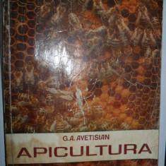 G.A. AVETISIAN - Apicultura 1978/ stuparului/stuparit/stuparitul/albinelor/albine - Carti Agronomie