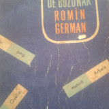 DICTIONAR DE BUZUNAR ROMAN - GERMAN