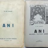 Siruni, Anuar de cultura armeana, 1941 - Carte Editie princeps