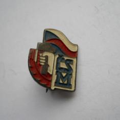 Cehoslovacia-Tineretul Comunist Cehoslovac - Insigna
