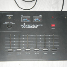 MIXER VIVANCO MX700 - Mixere DJ Altele