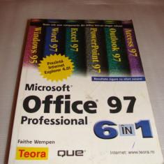 OFFICE 97 Microsoft Professional 6 in 1 - Faithe Wempen - Carte Limbaje de programare