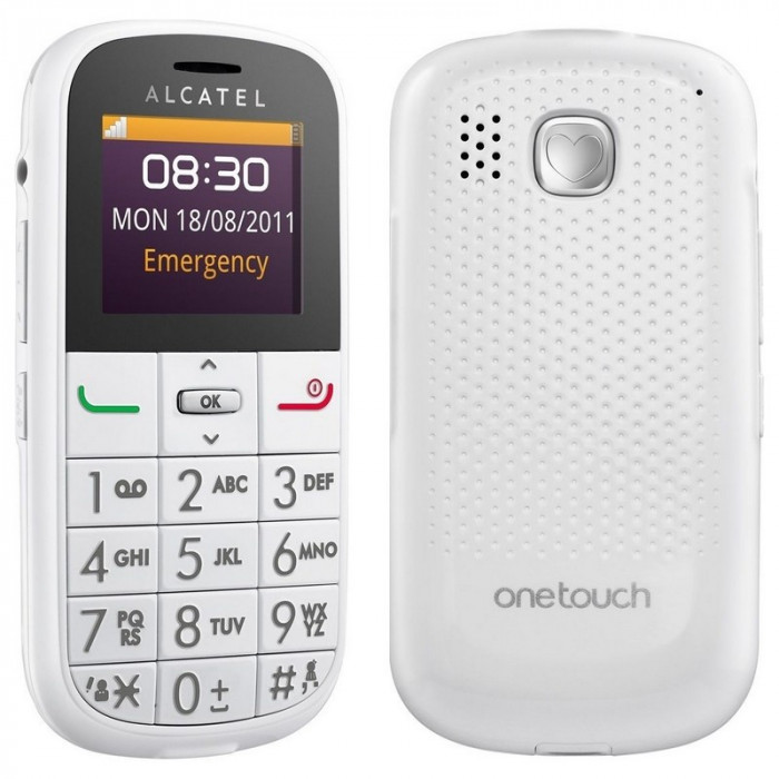 Alcatel One Touch OT-282, Telefon pentru batrani, taste mari, nou, foto mare