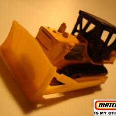 MATCHBOX INT'L MACAU-CATERPILLAR BULLDOZER-- ++2100 DE LICITATII !! - Macheta auto Matchbox, 1:64