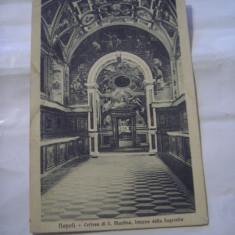 C.P.NAPOLI - Certosa di S.Martino . Interno della Sagrestia