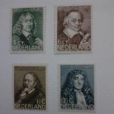 Olanda 1937 serie nestampilata cota 45 euro