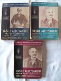 """Cumpara ieftin Carte veche: """"CLASICII ROMANI COMENTATI: VASILE ALECSANDRI"""", 3 Volume, Sub ingrijirea Prof. univ. N. Cartojan, 1939"""