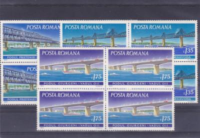 Poduri   ,nr lista 795 ,bloc 4 x ,Romania. foto