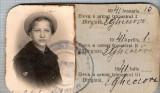 New FOTO CABINET24 -Eleva Socol Elisabeta -Liceul Industrial de Fete Braila 1940-1941-dimensiuni10,2X6,1cm.-starea ce se vede