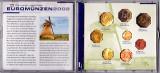 Olanda set monede 1999-2000-2001-2002,1+2+5+10+20+50 Eutocenti+1+2 EURO,in cutie,atentie la descriere