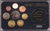 Portugalia 8 monede euro comemorative,inclusiv 2,5 euro, in cutie cu certificat
