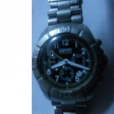 Esrpit chronograph - Ceas barbatesc Swatch, Elegant, Mecanic-Automatic, Metal necunoscut, Fusuri orare multiple