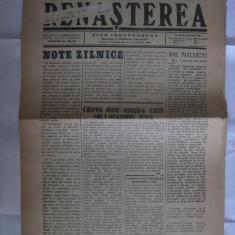 ZIARUL RENASTEREA DE ORADEA DIN 11 IUNIE 1939