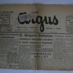 ZIARUL ARGUS DIN 8 MAI 1939