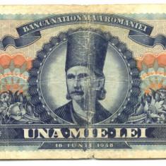 1000 LEI 18 IUNIE 1948 VF - Bancnota romaneasca
