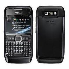 Telefon Nokia E 71 Black impecabil - Telefon mobil Nokia E71, Negru, Neblocat