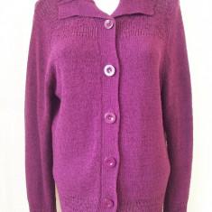 Bluza Kingfield; poliacril si poliamida; M: 54 cm bust, 66 cm lungime; ca noua - Pulover dama, Marime: M, Culoare: Violet