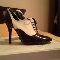 Pantofi - Ghete ZARA - Ghete dama Zara, Culoare: Negru, Marime: 37, Negru