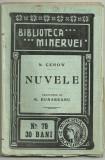 Cehov / NUVELE - editie 1910 (Biblioteca Minervei)