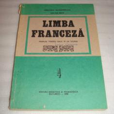 LIMBA FRANCEZA pentru anul IV de studiu - Dan Ion Nasta - Manual scolar didactica si pedagogica, Clasa 4, Didactica si Pedagogica, Limbi straine