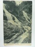CARPATII TRANSILVANIEI - CASCADE PE VALEA SEBESULUI - ANUL 1918