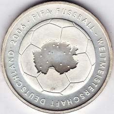 Germania 10 EURO 2003, fotbal, FIFA, argint 18 gr. 925%