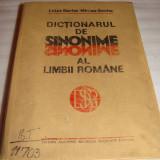 DICTIONARUL DE SINONIME AL LIMBII ROMANE - Luiza Seche / Mircea Seche