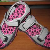 Sandale Dama noi, Culoare: Gri, Marime: 41, Marime: 40