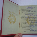 Uniunea centrala a sindicatelor - carnet de membru - 1967 - Pasaport/Document