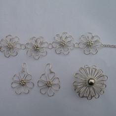 Vand set bijuterii argint