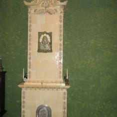Soba teracota, Lemn
