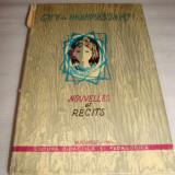 Nouvelles et Recits - Guy de Maupassant - Carte in franceza