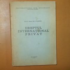 Ion Filipescu Dreptul international privat 1977