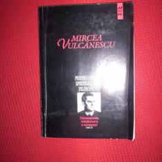 Mircea Vulcanescu-Pentru o noua spiritualitate filosofica/Dimensiunea romaneasca a existentei/vol.1 - Filosofie