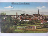 SIBIU - HERMANNSTADT - VEDERE PARTIALA - ANUL 1916
