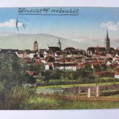 SIBIU - HERMANNSTADT - VEDERE PARTIALA - ANUL 1916